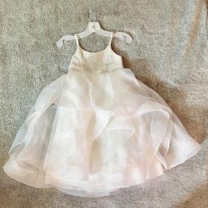 David's Bridal Flower Girl Dress